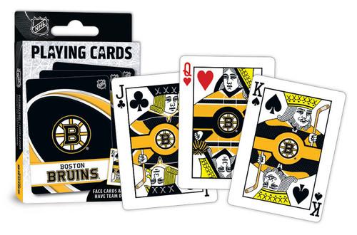 Boston Bruins Playing Cards Logo