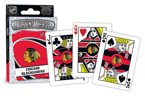 Chicago Blackhawks Playing Cards Logo