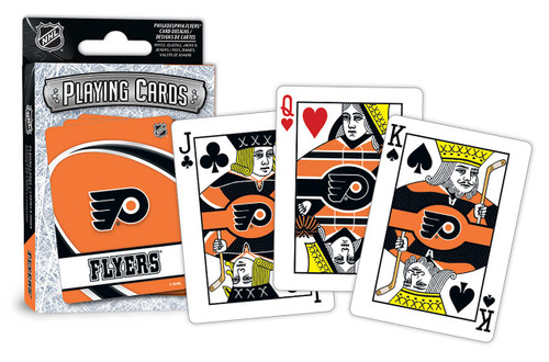 Philadelphia Flyers Playing Cards Logo