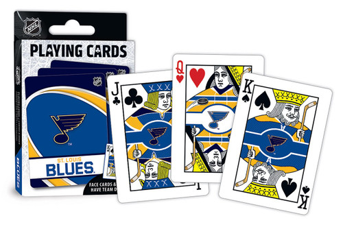 St. Louis Blues Playing Cards Logo