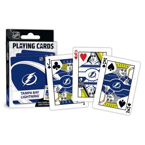 Tampa Bay Lightning Playing Cards Logo