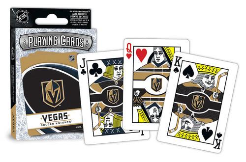 Vegas Golden Knights Playing Cards Logo