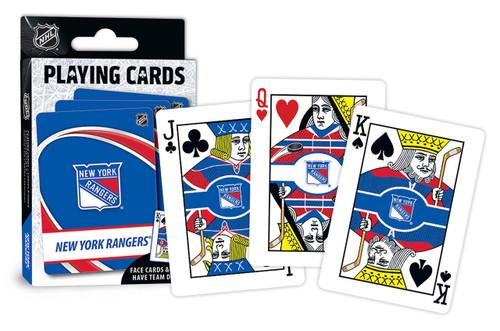 New York Rangers Playing Cards Logo