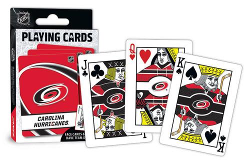 Carolina Hurricanes Playing Cards Logo