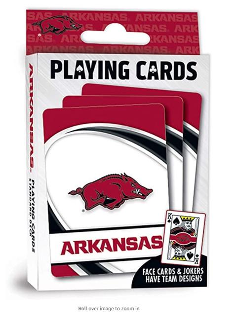 Arkansas Razorbacks Playing Cards Logo Special Order