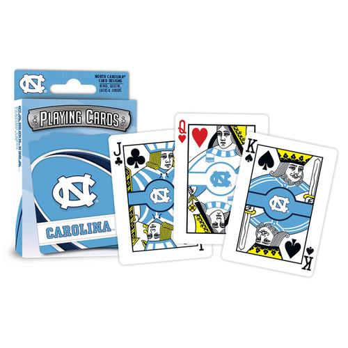 North Carolina Tar Heels Playing Cards Logo