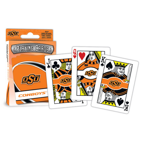 Oklahoma State Cowboys Playing Cards Logo Special Order