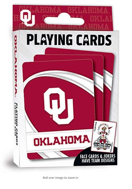 Oklahoma Sooners Playing Cards Logo