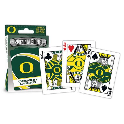 Oregon Ducks Playing Cards Logo