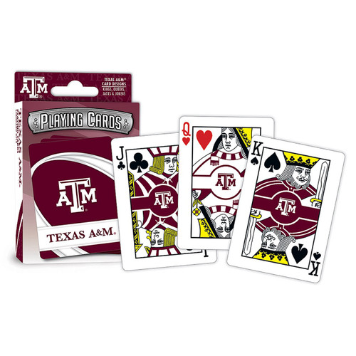 Texas A&M Aggies Playing Cards Logo