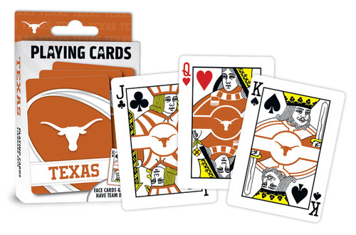 Texas Longhorns Playing Cards Logo