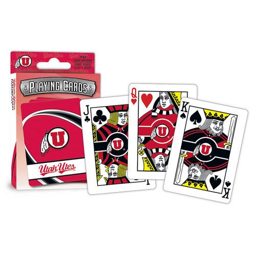 Utah Utes Playing Cards Logo Special Order