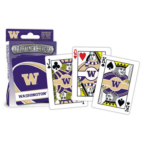 Washington Huskies Playing Cards Logo Special Order