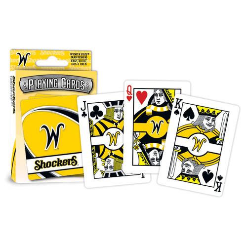 Wichita State Shockers Playing Cards Logo Special Order