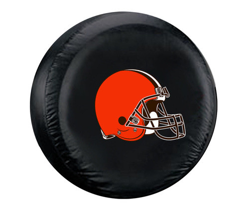 Cleveland Browns Tire Cover Large Size Black CO