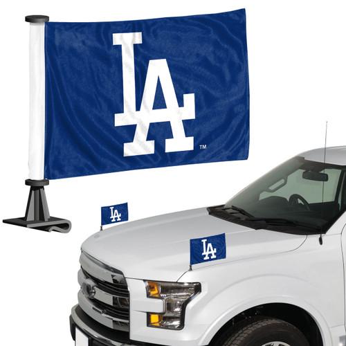 Los Angeles Dodgers Flag Set 2 Piece Ambassador Style