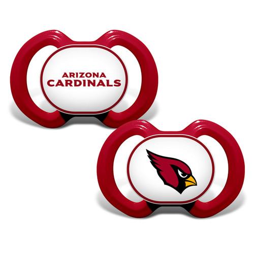 Arizona Cardinals Pacifier 2 Pack Alternate