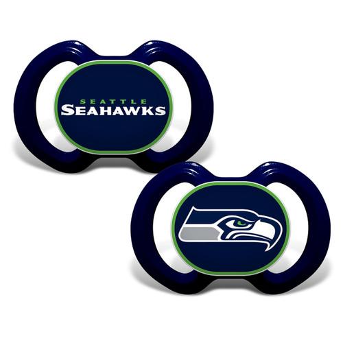 Seattle Seahawks Pacifier 2 Pack