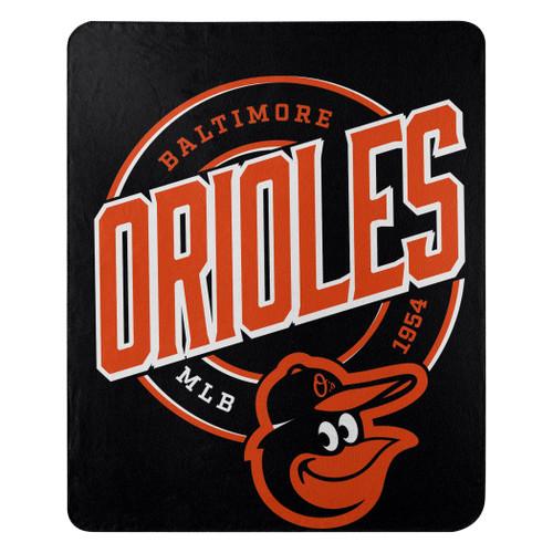 Baltimore Orioles Blanket 50x60 Fleece Campaign Design