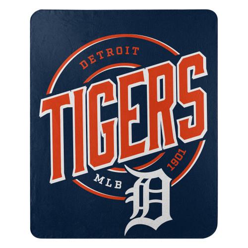 Detroit Tigers Blanket 50x60 Fleece Campaign Design
