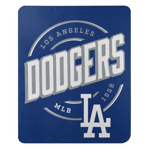 Los Angeles Dodgers Blanket 50x60 Fleece Campaign Design