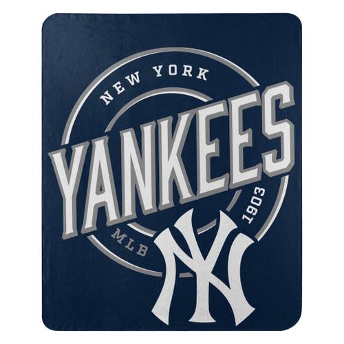 New York Yankees Blanket 50x60 Fleece Campaign Design