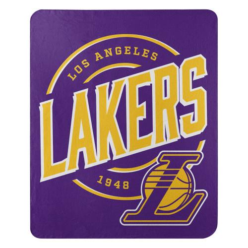 Los Angeles Lakers Blanket 50x60 Fleece Campaign Design