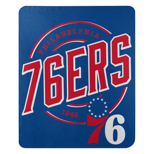 Philadelphia 76ers Blanket 50x60 Fleece Campaign Design