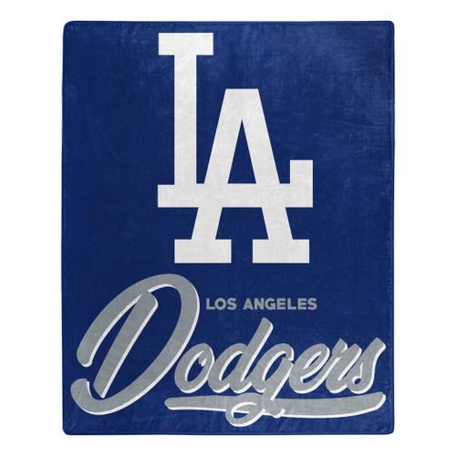 Los Angeles Dodgers Blanket 50x60 Raschel Signature Design
