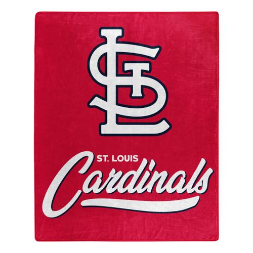 St. Louis Cardinals Blanket 50x60 Raschel Signature Design