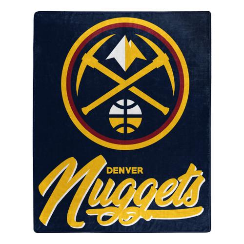 Denver Nuggets Blanket 50x60 Raschel Signature Design