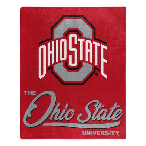 Ohio State Buckeyes Blanket 50x60 Raschel Signature Design