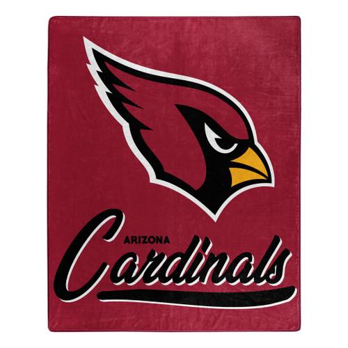 Arizona Cardinals Blanket 50x60 Raschel Signature Design