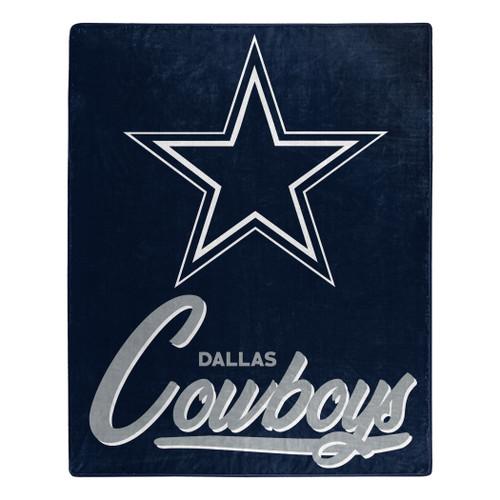 Dallas Cowboys Blanket 50x60 Raschel Signature Design