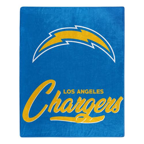 Los Angeles Chargers Blanket 50x60 Raschel Signature Design