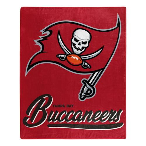 Tampa Bay Buccaneers Blanket 50x60 Raschel Signature Design