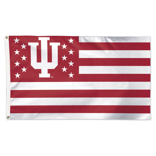 Indiana Hoosiers Flag 3x5 Americana Design - Special Order