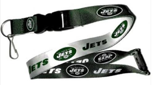 New York Jets Lanyard Reversible Green/White