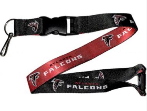 Atlanta Falcons Lanyard Reversible Black/Red