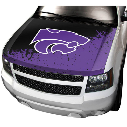 Kansas State Wildcats Auto Cover Hood Style CO