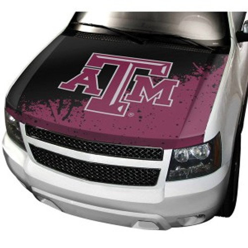 Texas A&M Aggies Auto Cover Hood Style CO