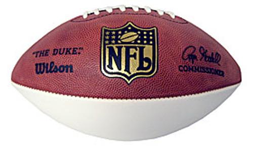 Wilson 1-White Panel NFL Football