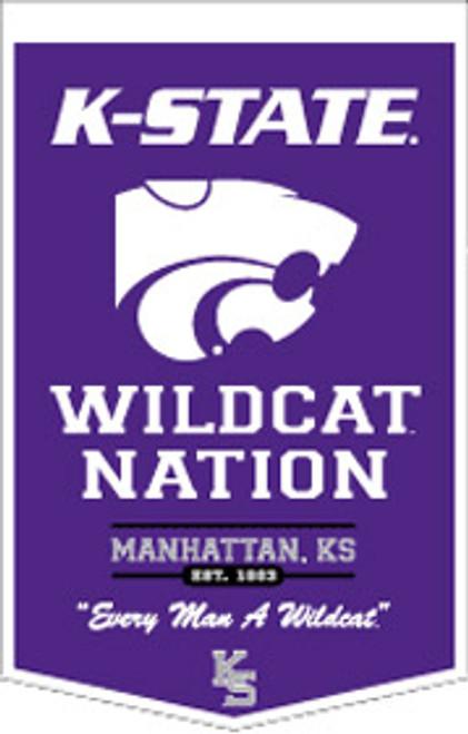 Kansas State Wildcats Banner 18x27 PowerHouse