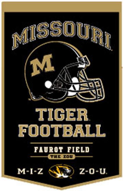 Missouri Tigers Banner 18x27 Wool PowerHouse