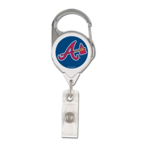 Atlanta Braves Retractable Premium Badge Holder