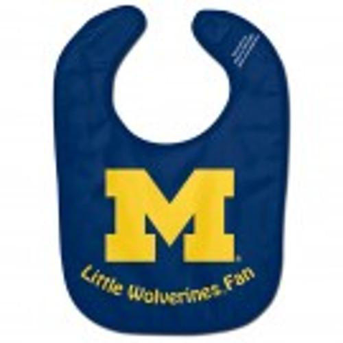 Michigan Wolverines Baby Bib - All Pro Little Fan