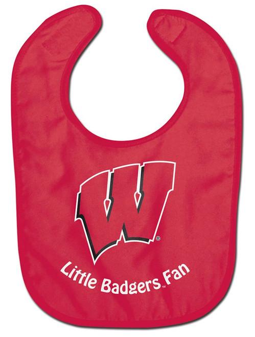 Wisconsin Badgers Baby Bib - All Pro Little Fan - Special Order