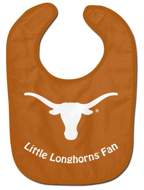 Texas Longhorns Baby Bib - All Pro Little Fan