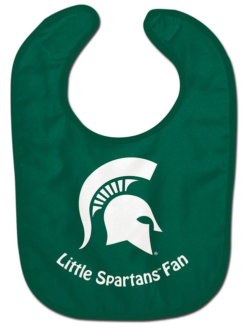 Michigan State Spartans Baby Bib - All Pro Little Fan