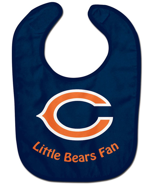 Chicago Bears All Pro Little Fan Baby Bib